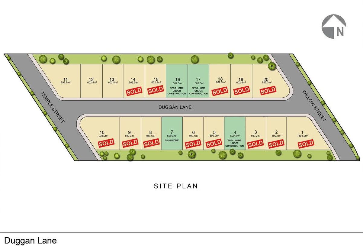 Duggan Lane Site Plan