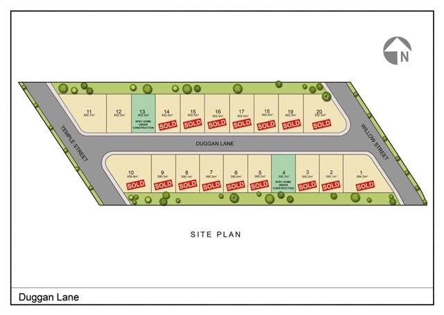 Duggan Lane Site Plan